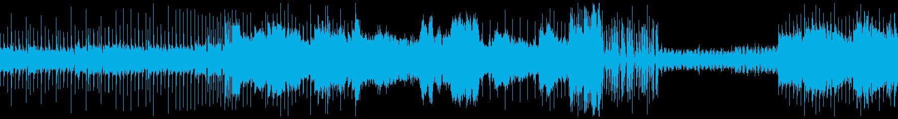 ループ可、スタイリッシュなEDMの再生済みの波形