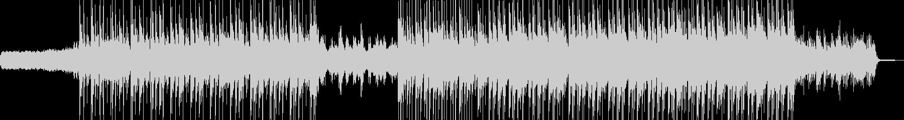 電脳・空想科学的なエレクトロ エレキ有Bの未再生の波形