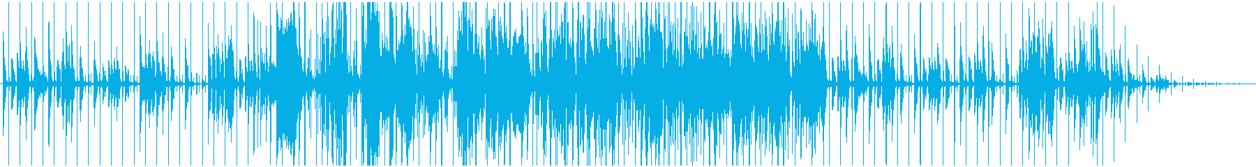 サラサラ ジャズ ドラマチック お...の再生済みの波形