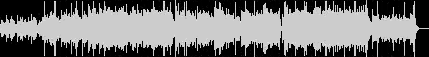 ピアノストリングスの癒しBGMの未再生の波形