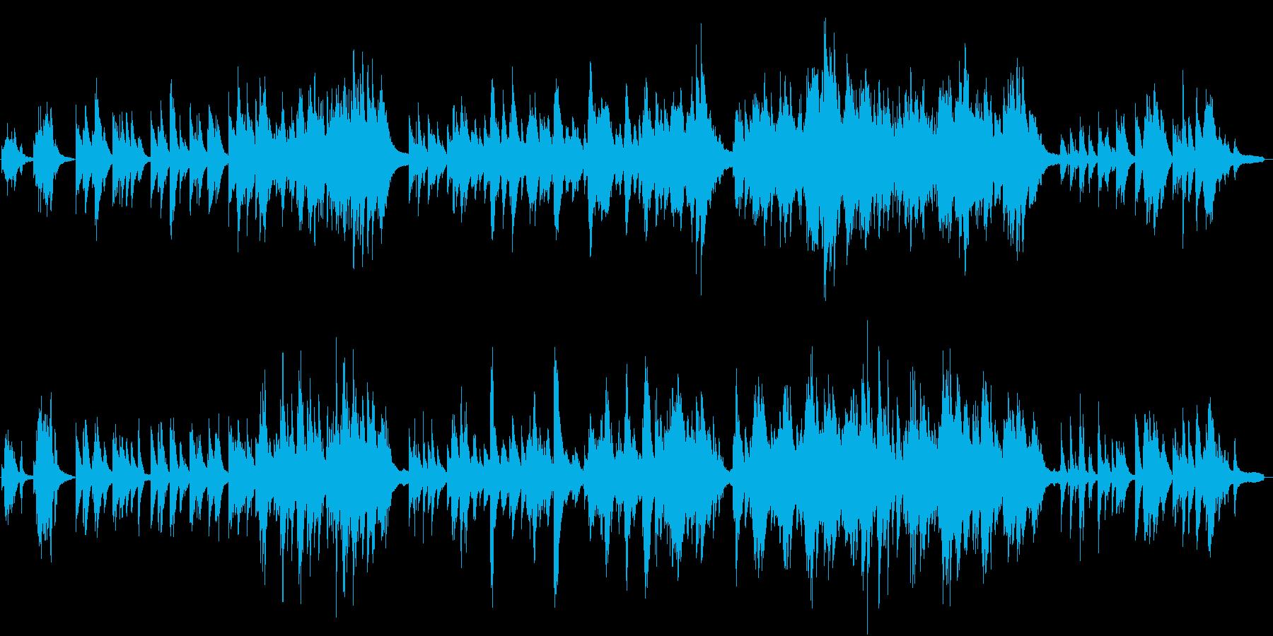 少しJAZZY、さわやかなピアノソロの再生済みの波形