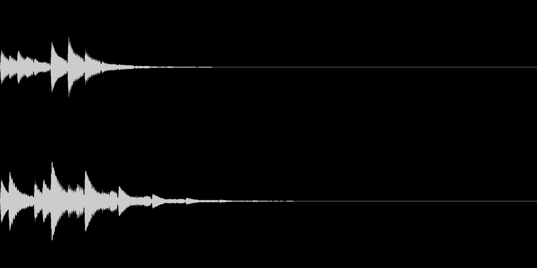 ポロン(癒し系アンビエント/静か/神秘的の未再生の波形