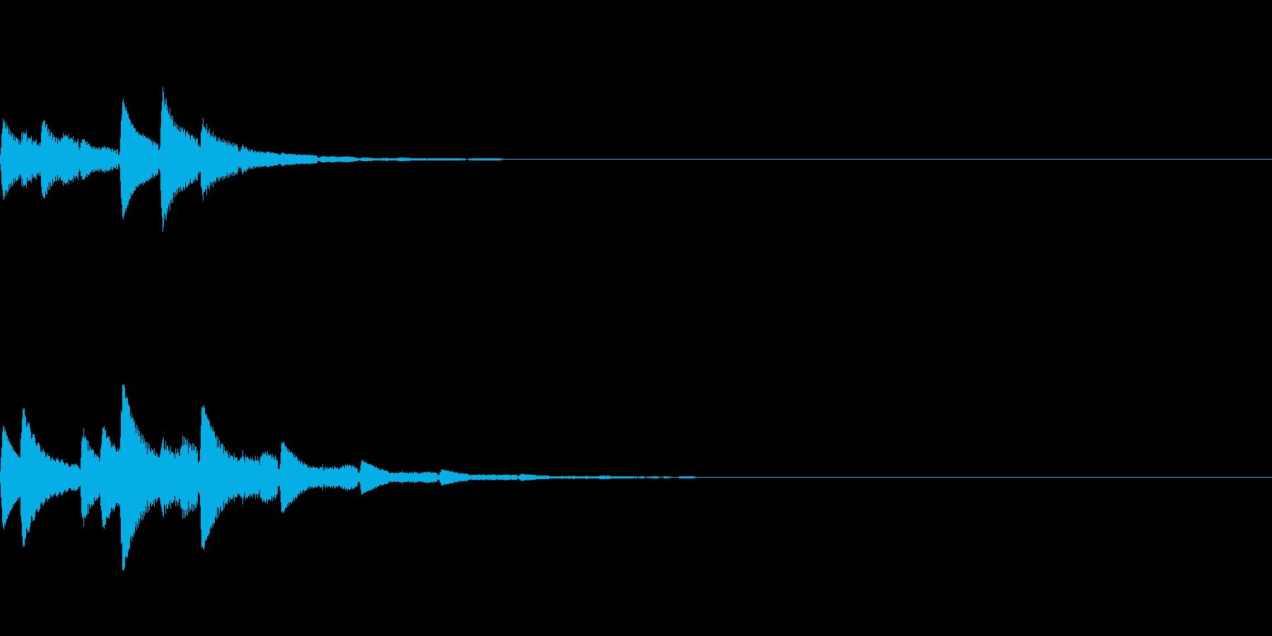 ポロン(癒し系アンビエント/静か/神秘的の再生済みの波形