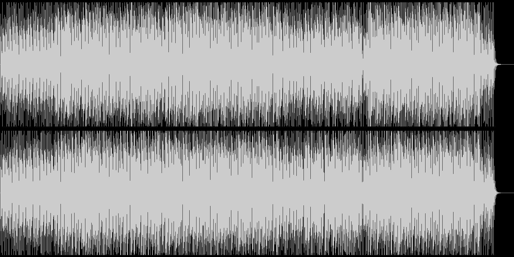 爽やかオープニング映像にゆっくりわくわくの未再生の波形