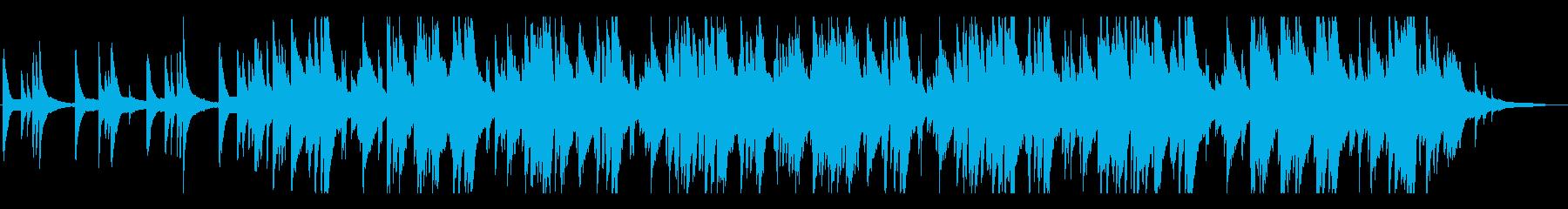 おしゃれ、ジャズラウンジの再生済みの波形
