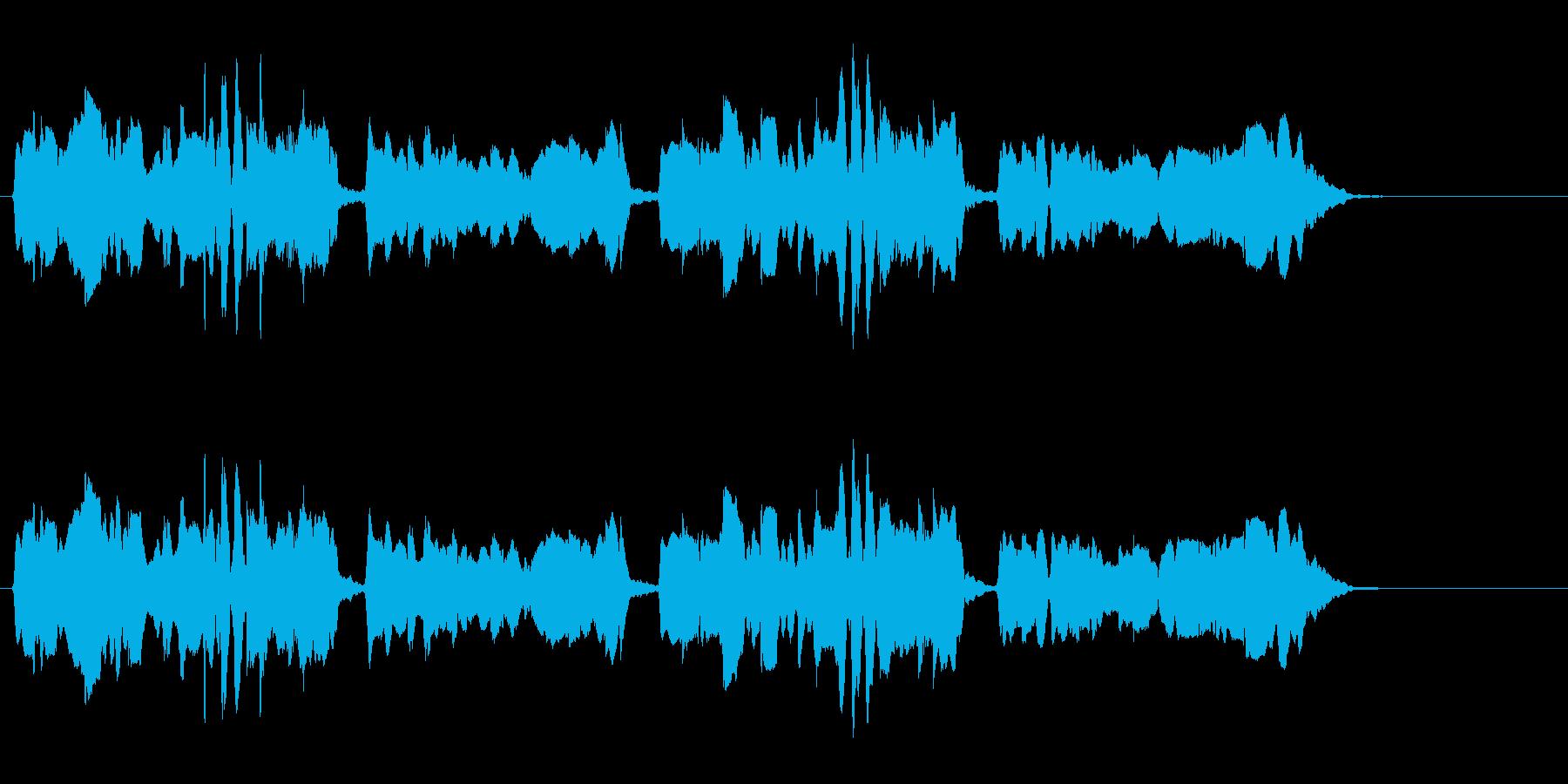 尺八 生演奏 古典風 残響音有 9の再生済みの波形