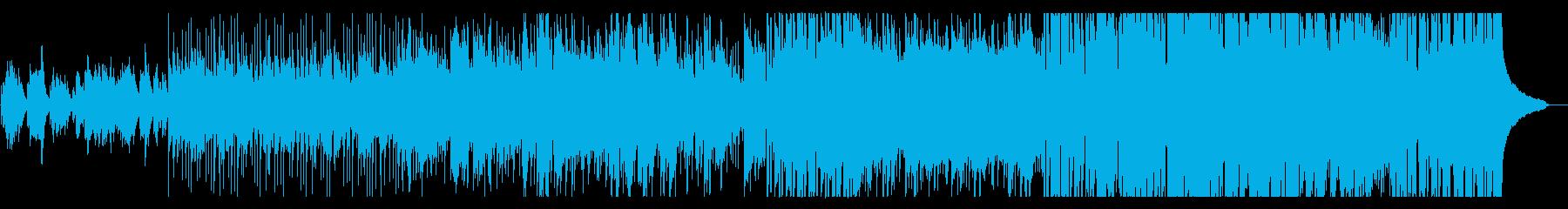 和風・近未来的・ピアノデジタルの再生済みの波形