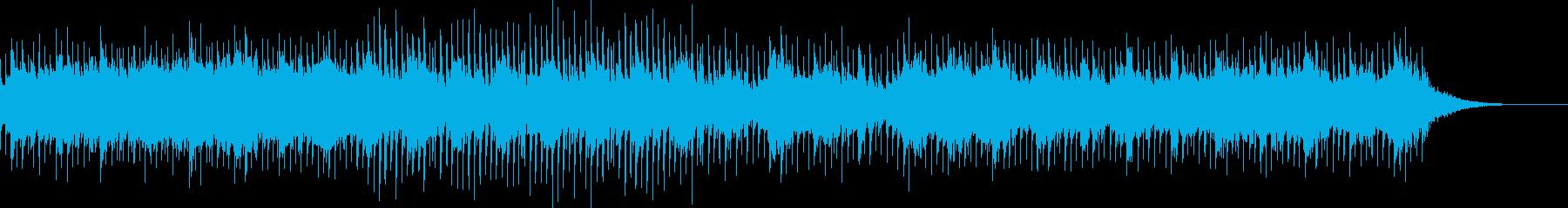 和楽器不使用和風高速テクノ シンプルの再生済みの波形