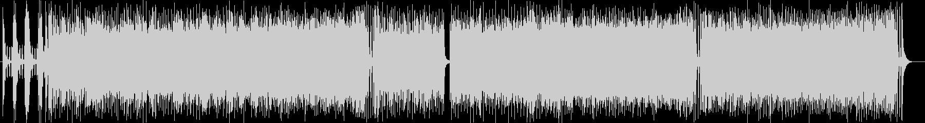 スピーディーで疾走感あるドラムサウンドの未再生の波形