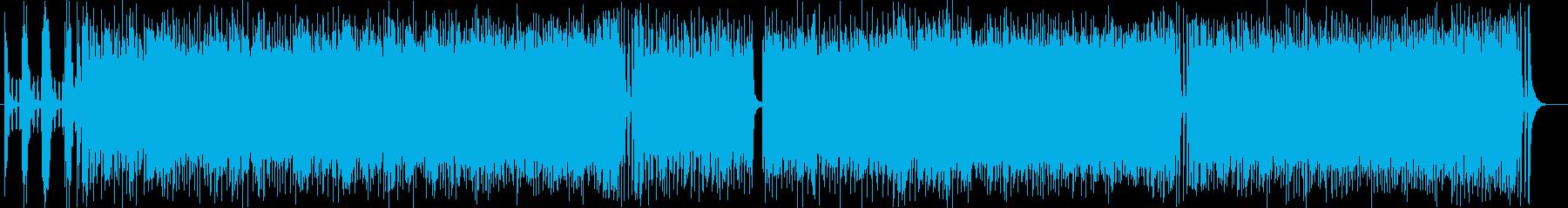 スピーディーで疾走感あるドラムサウンドの再生済みの波形