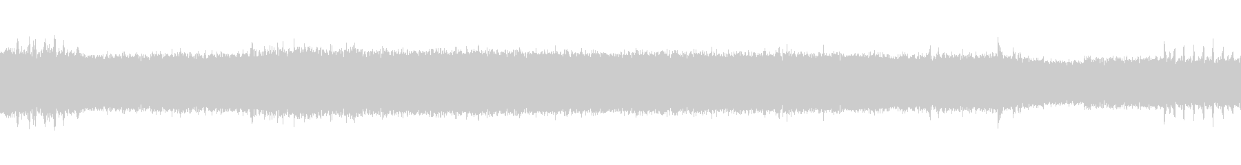 【生音】 電車 - 走行音 - 02の未再生の波形