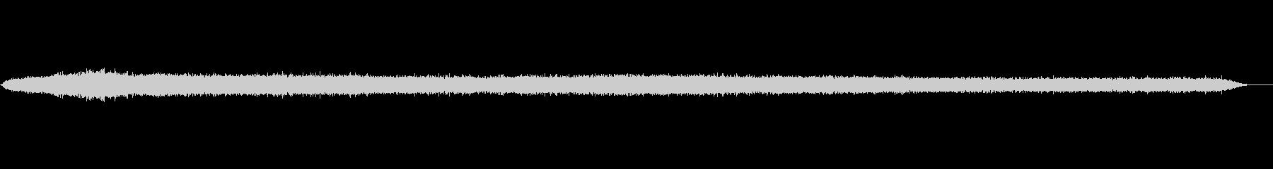 バルーンの収縮(エアヒス)の未再生の波形