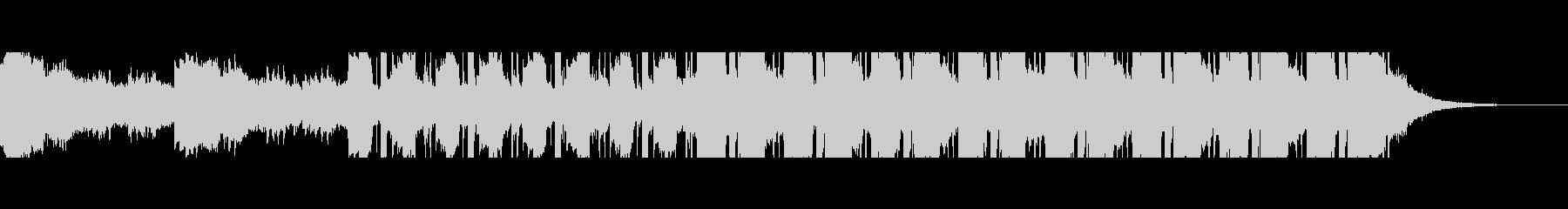 中東砂漠(60秒)の未再生の波形