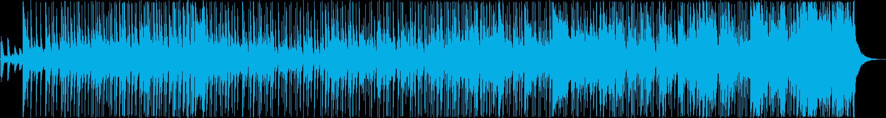 伝統的、しつこい、繰り返し。の再生済みの波形