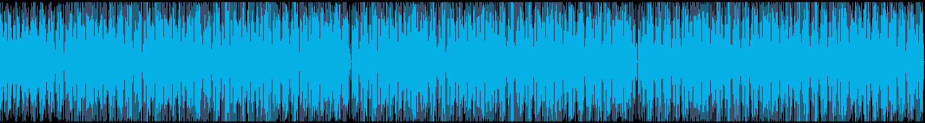 【のんきな雰囲気・動画用】かわいいBGMの再生済みの波形