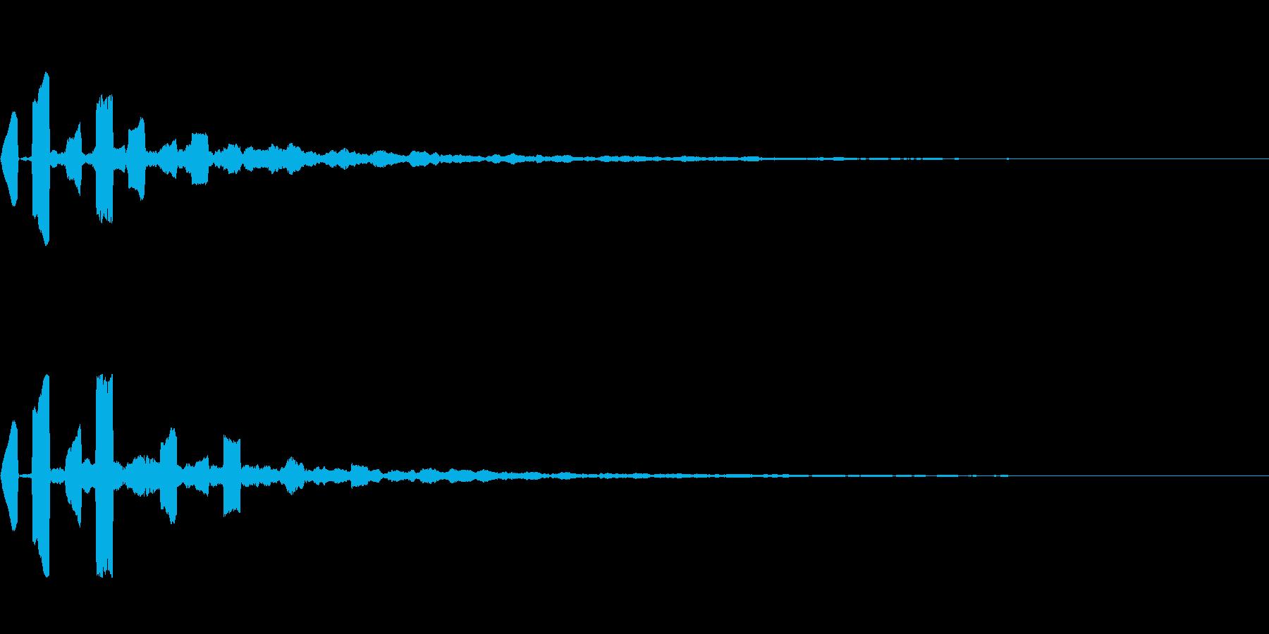 ピコン(ゲーム・アプリ等の決定音)の再生済みの波形
