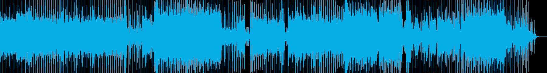 硬質なシンセ・無機質なヒップホップ Bの再生済みの波形