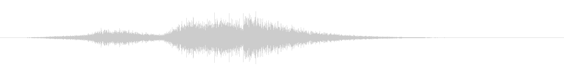 クイックシンエアリリースの未再生の波形