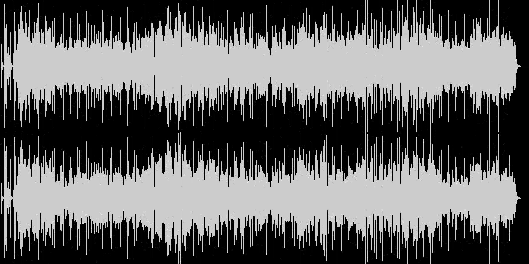 バブリーな80年代スキー場Jポップスの未再生の波形