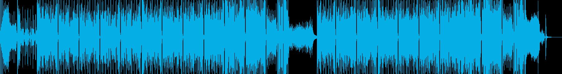 タイム制限クイズのようなポップスの再生済みの波形