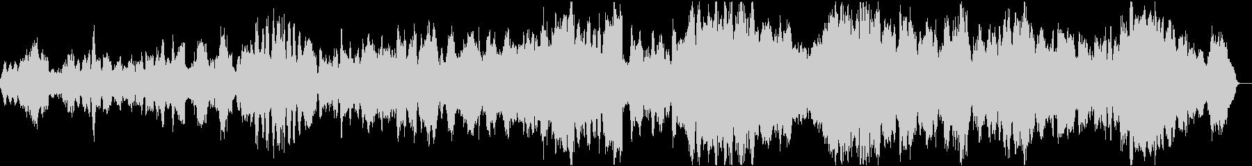 バッハ平均律クラヴィーア曲集カルテット2の未再生の波形