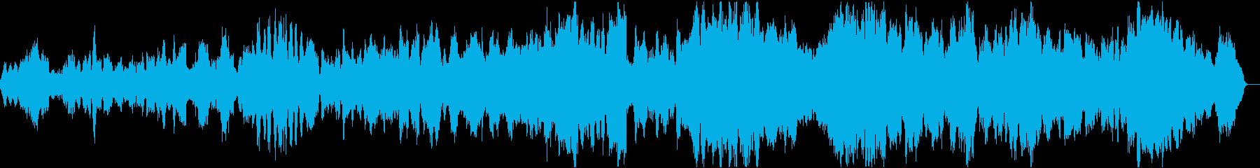 バッハ平均律クラヴィーア曲集カルテット2の再生済みの波形