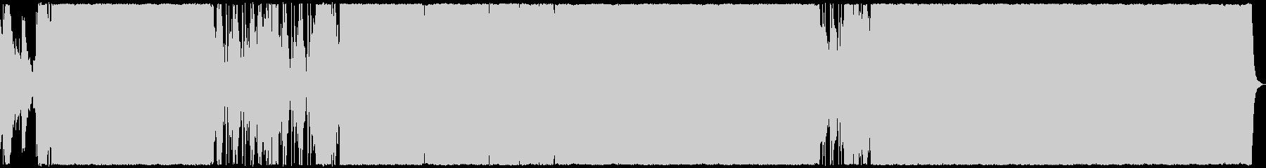 壮大で感動的なロックバラード(サックス)の未再生の波形