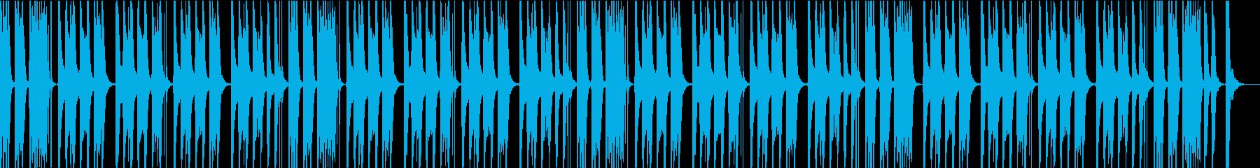 ゆるい&かわいい&ほのぼの日常シーン楽曲の再生済みの波形