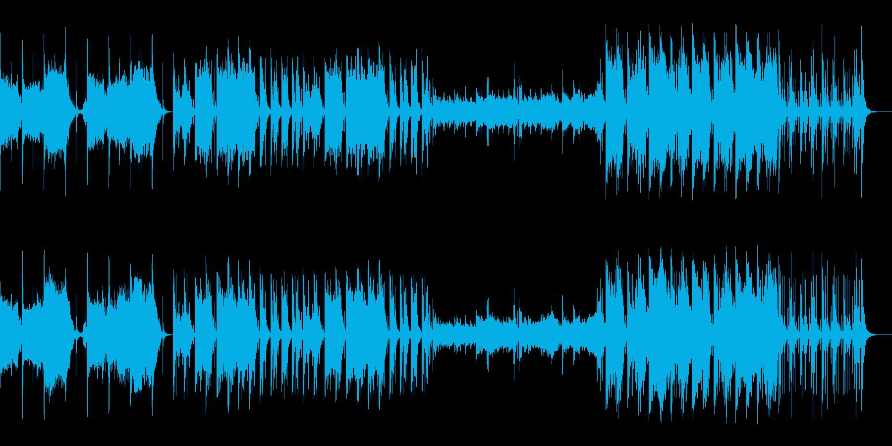 和テイスト・神秘的なワールドミュージックの再生済みの波形