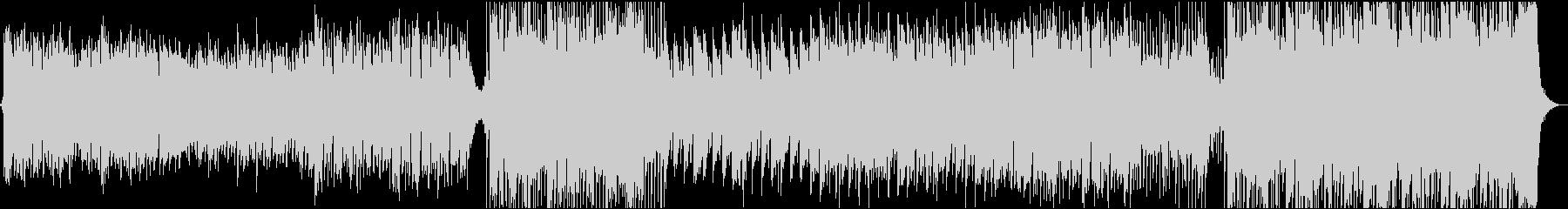 壮大なケルト風BGMの未再生の波形