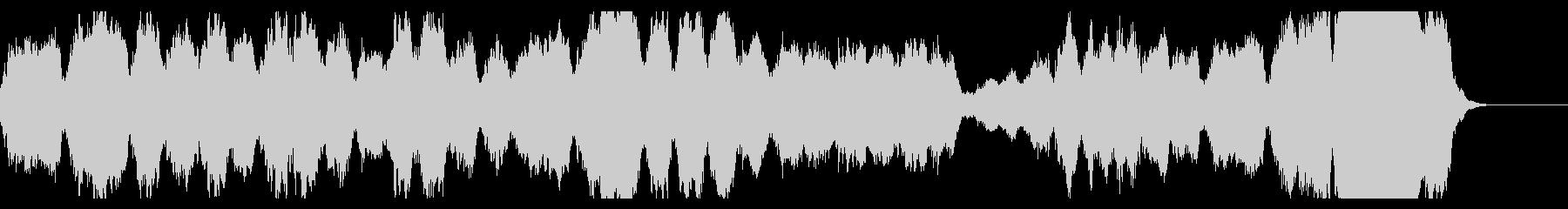 TVでよく使われるクラシック 展覧会の絵の未再生の波形