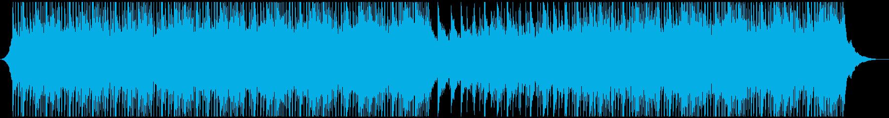 爽やかな疾走感で企業向アップテンポ生音系 の再生済みの波形