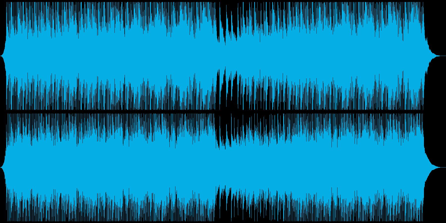 爽やかな疾走感で企業向アップテンポ生音系の再生済みの波形