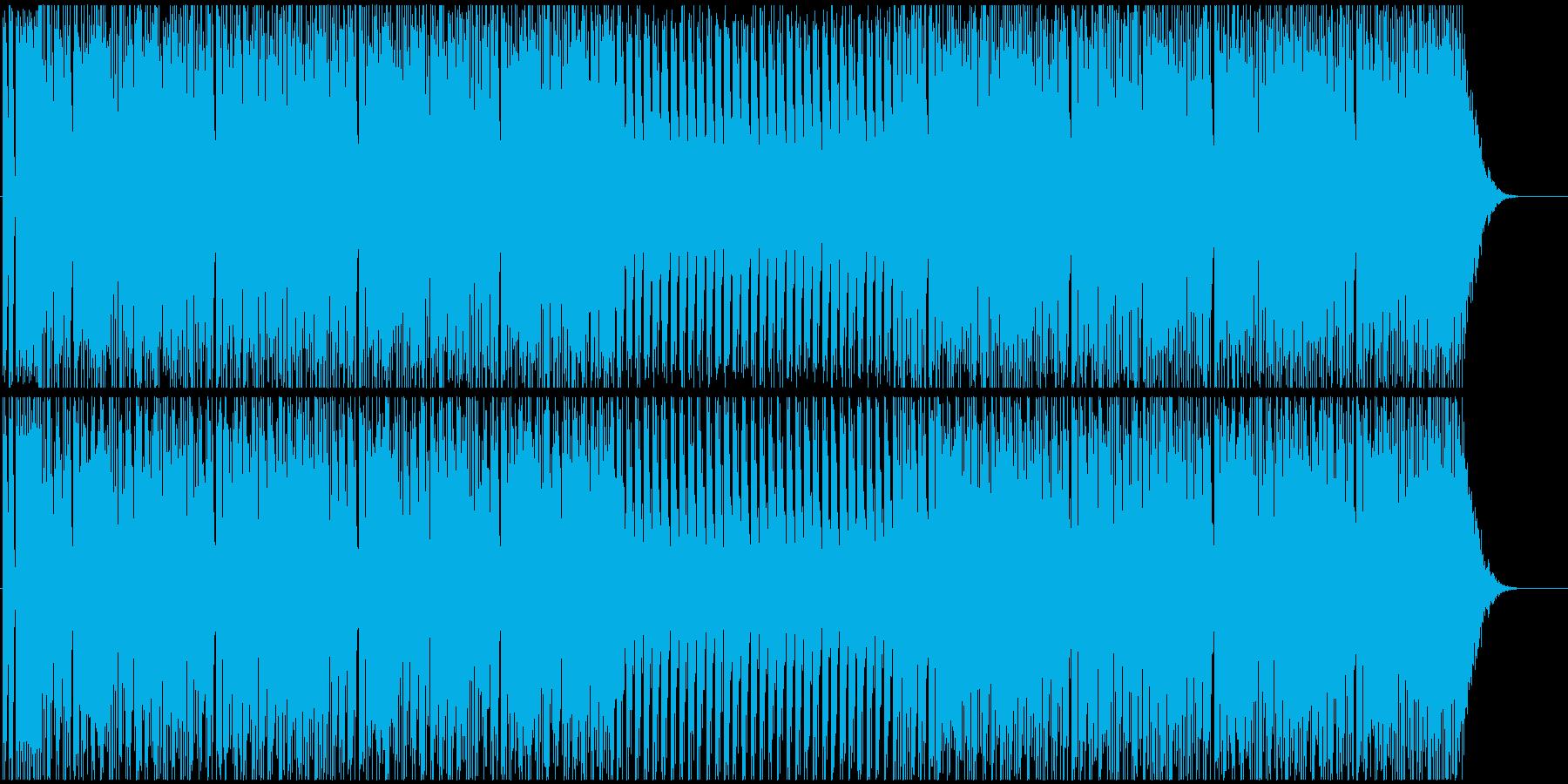ダンスしたくなる短いパラパラユーロビートの再生済みの波形