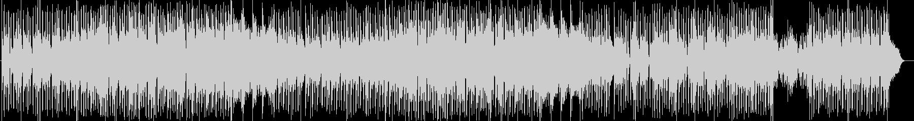 力強いシンセサイザーサウンドの未再生の波形