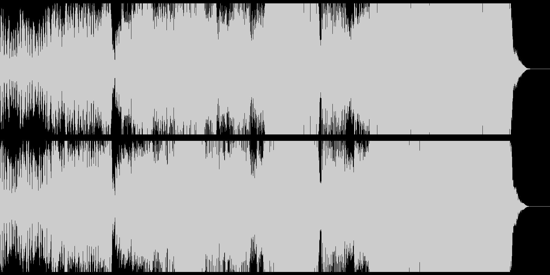 華やかなバロック風シンフォニックロックの未再生の波形