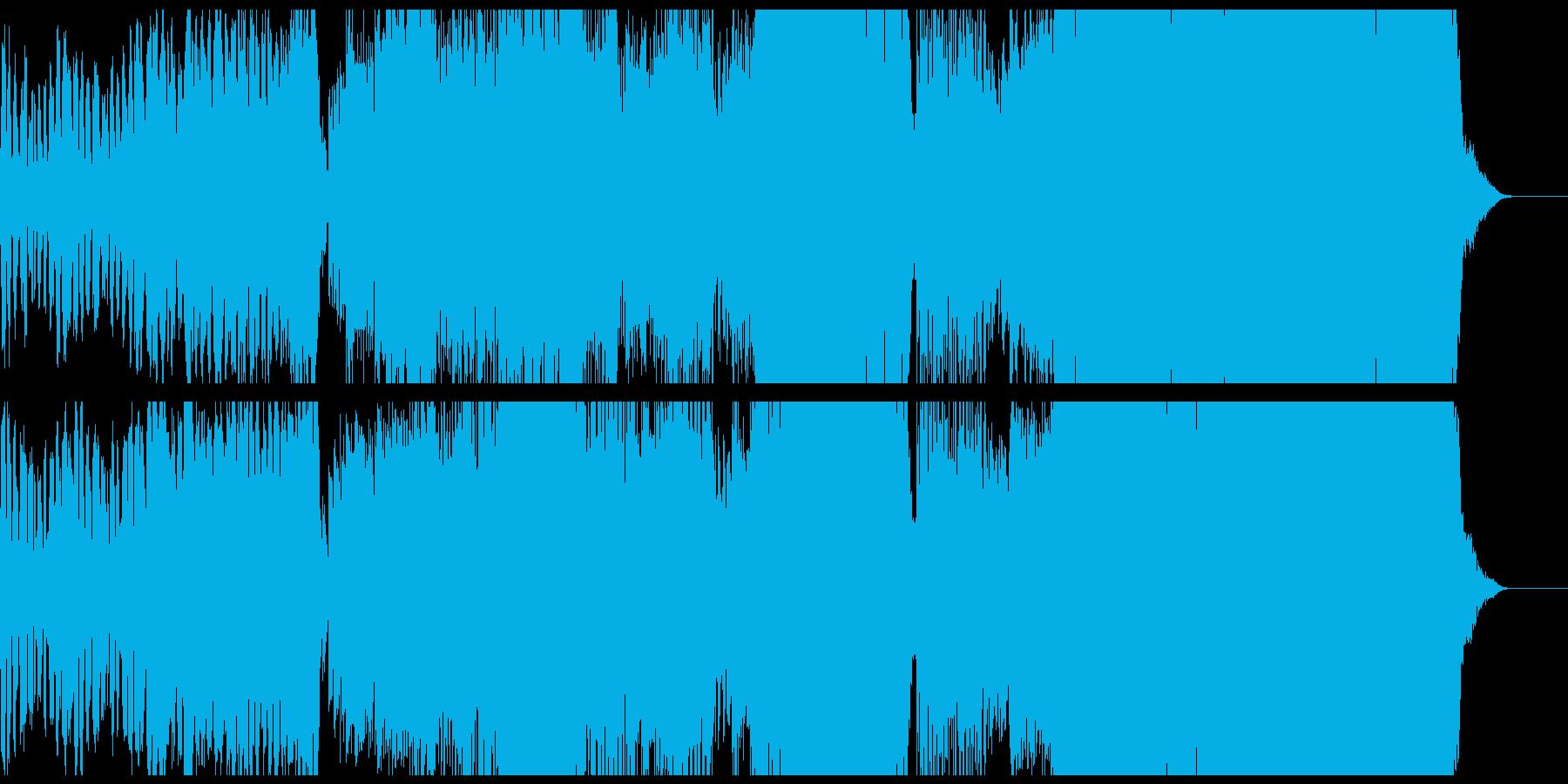 華やかなバロック風シンフォニックロックの再生済みの波形