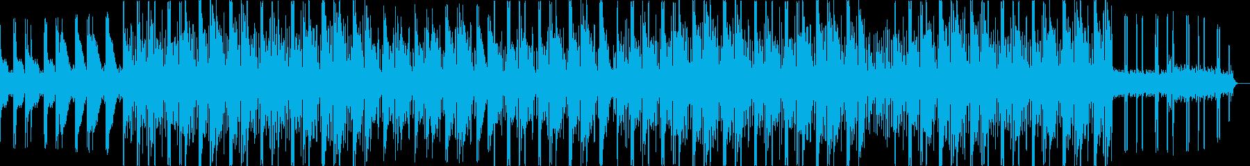 ベース(808)に特徴がある攻撃的ビートの再生済みの波形