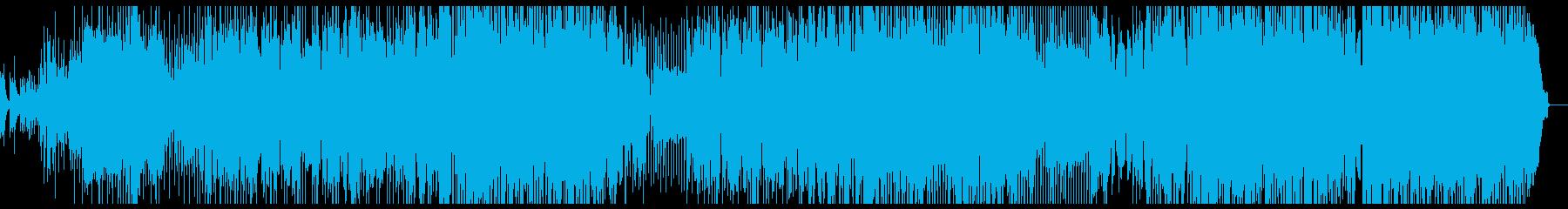 チェロ 爽やかなポップスの再生済みの波形