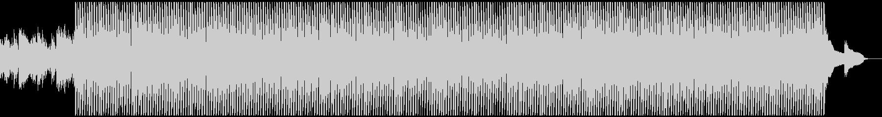 明るい前向きなイメージの曲の未再生の波形