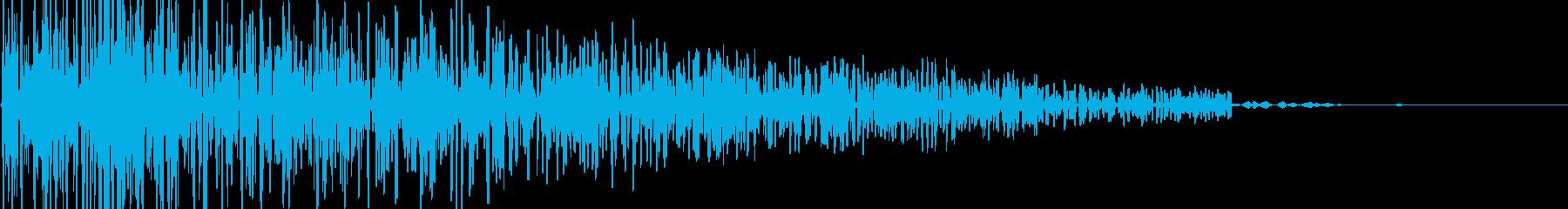 ドーン(爆発/エンジン魔法/衝撃/レトロの再生済みの波形