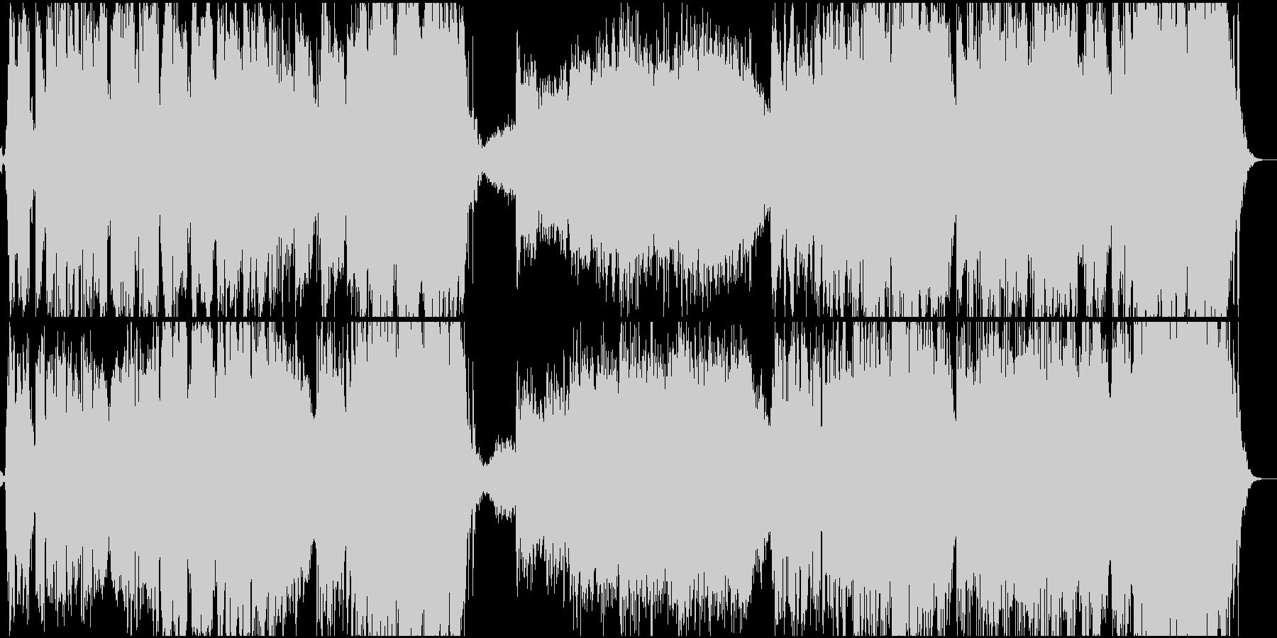 ワールド 民族 現代的 交響曲 広...の未再生の波形