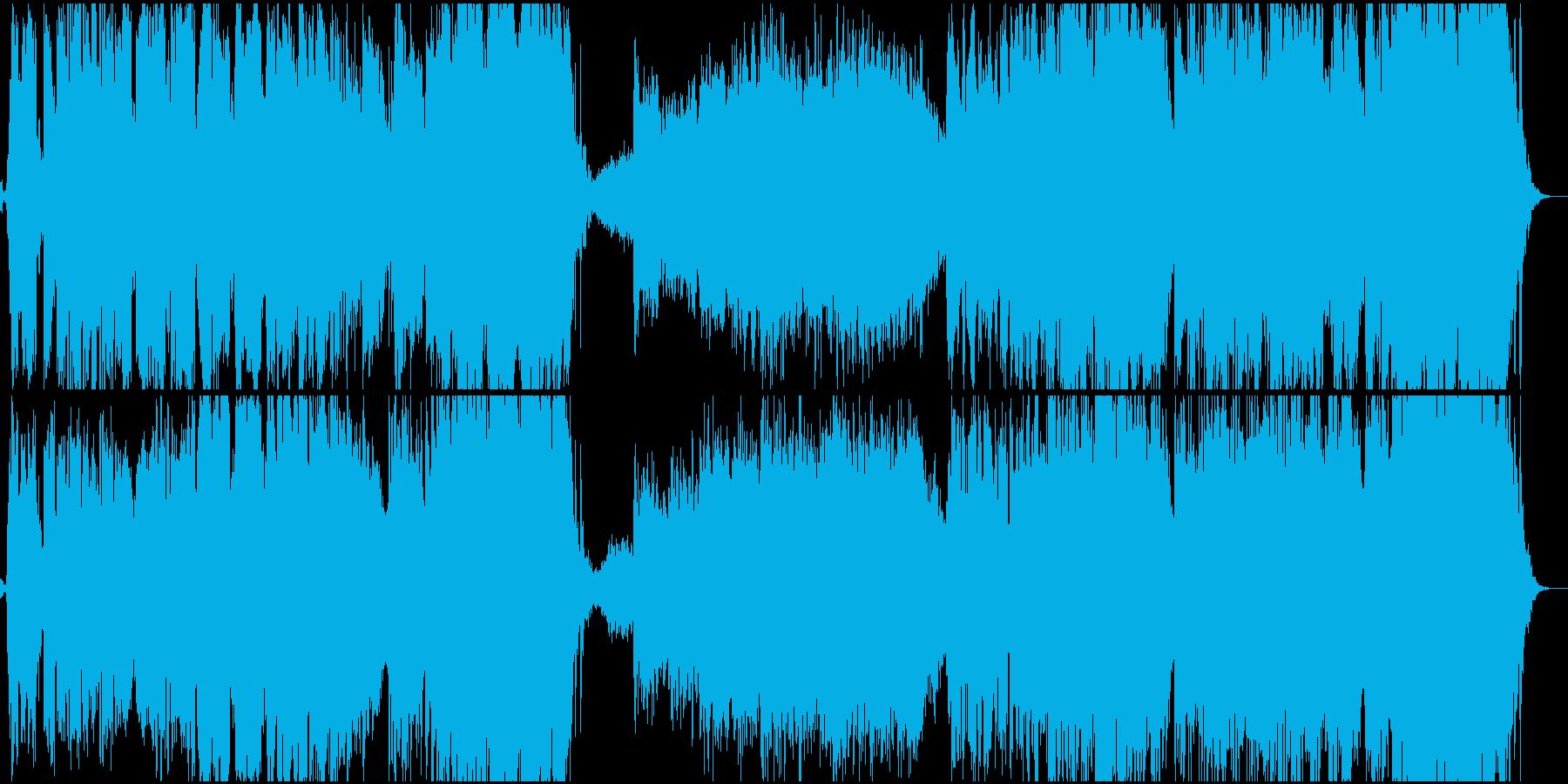 ワールド 民族 現代的 交響曲 広...の再生済みの波形