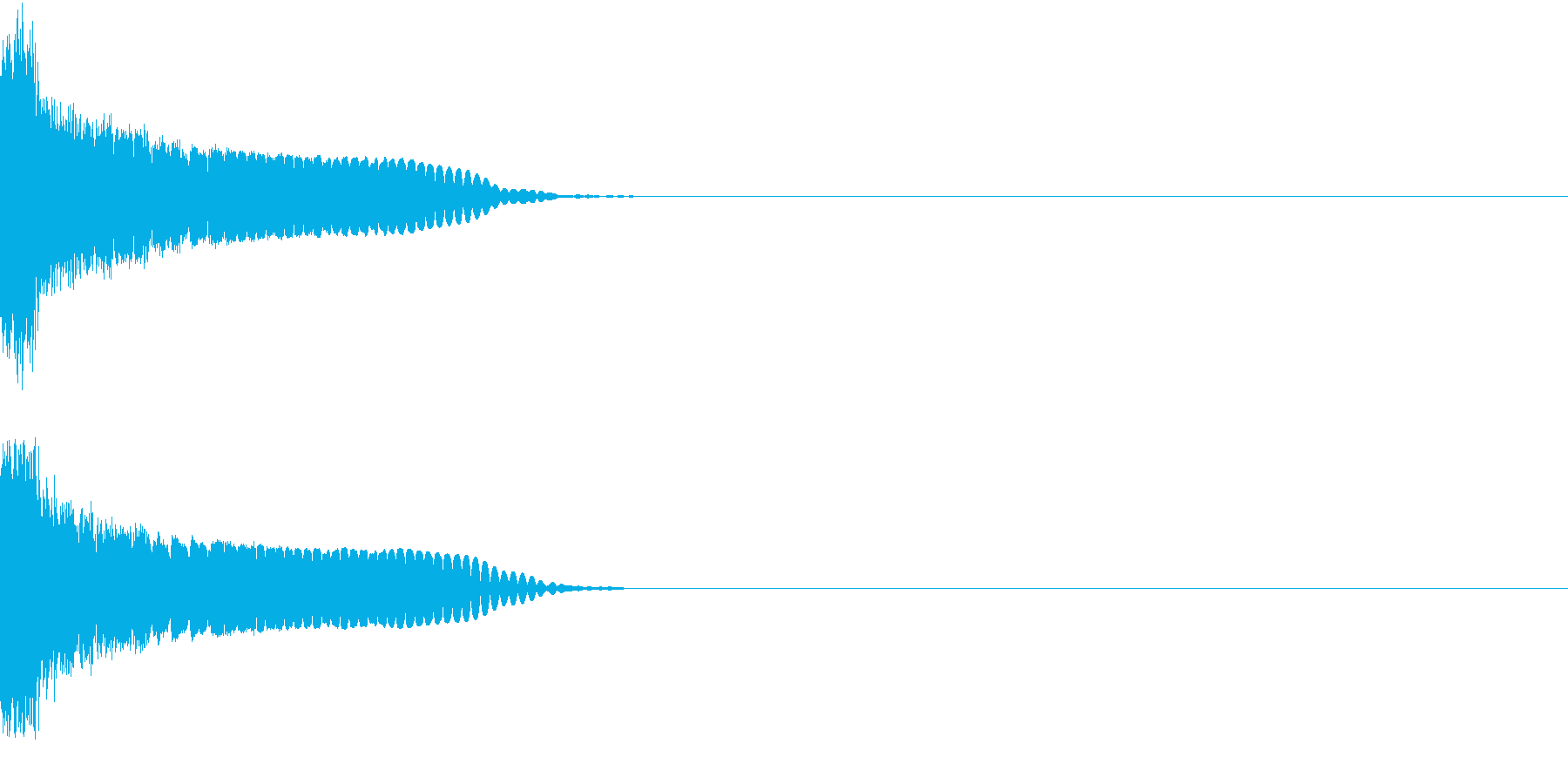 刀 剣 カキーン シャキーン 目立つ11の再生済みの波形