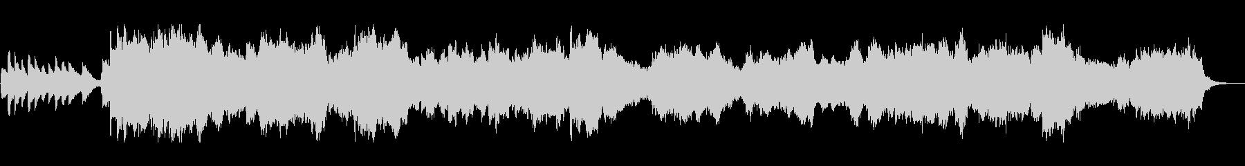 爽やかで美しいピアノシンセサウンドの未再生の波形