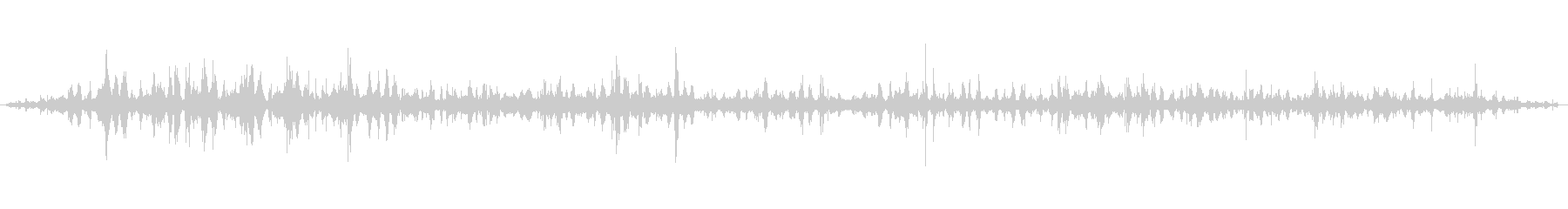 [ASMR]波打ち際の音_004の未再生の波形