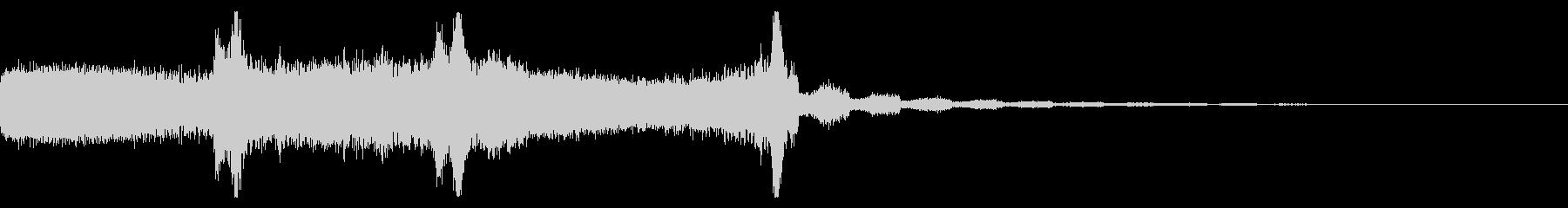 FMラジオ的ジングル14の未再生の波形