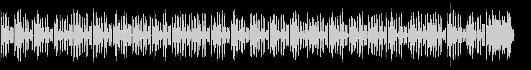 ファミコン調8bitのBGM 1の未再生の波形