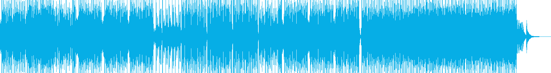 民族的で原始的なテクノポップ エレキ無Aの再生済みの波形