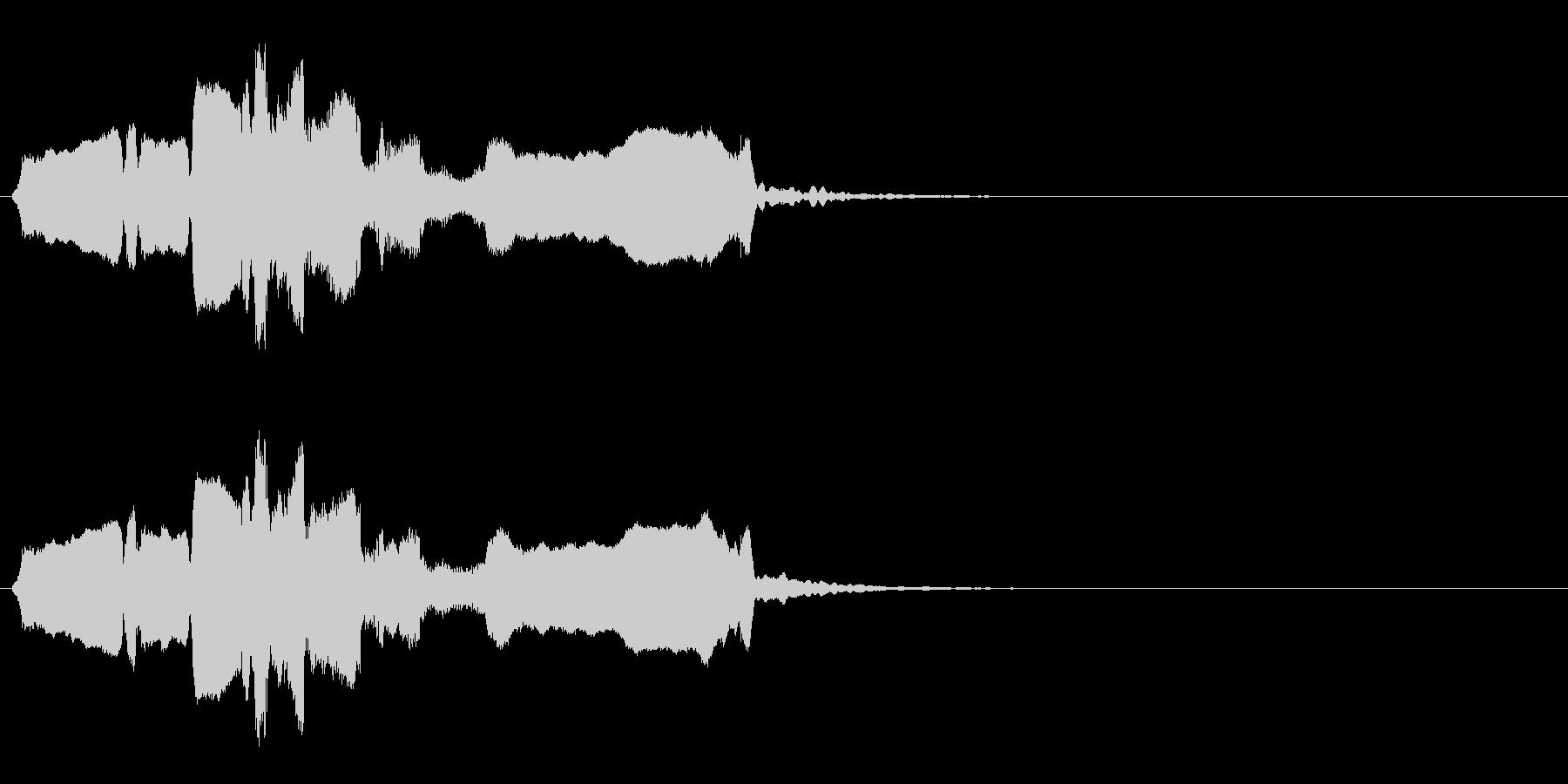 和風アイキャッチ◆篠笛生演奏の和風効果音の未再生の波形